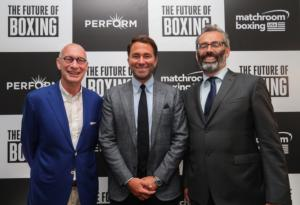Eddie Hearn Announces Boxing's First Billion Dollar Deal