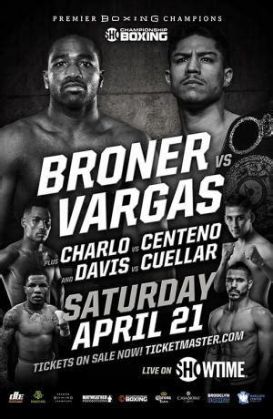 Broner vs. Vargas: Step up or get out