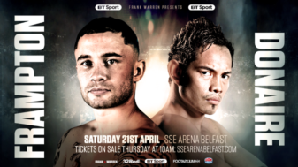 Carl Frampton, 31, vs. Nonito Donaire, 35: Is age just a number?