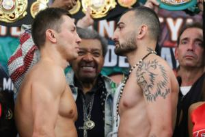 Golovkin And Martirosyan Make Weight