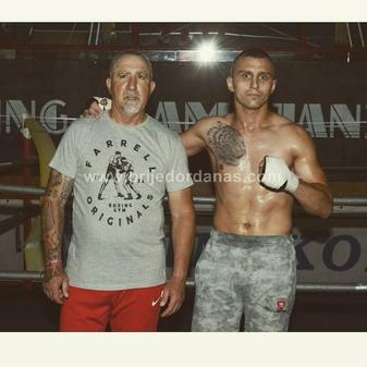 Janjanin with trainer Antoni Postigo