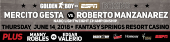 Former title challenger Mercito Gesta to face Roberto Maanizanarez in main event June 14