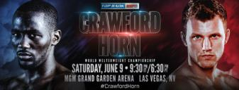 Crawford vs. Horn: Fight week conference call