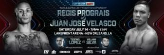 Regis Prograis meets New Orleans media