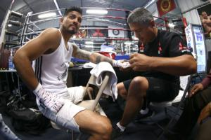 Abner Mares Is Relaxed And Says Weight In On Track For Fight Night