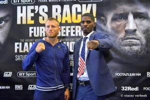 Flanagan Super Confident, Hooker Happy To Be The Underdog