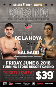 Diego De La Hoya and Mercito Gesta Los Angeles media workout