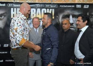 "Tyson Fury: ""I Feel Sharper Now, More Power"""