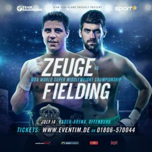 Fielding Crowned WBA Champ In Offenburg