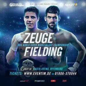 Fielding Crowned WBA Champ In Offenburg