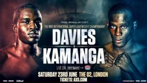 Change Of Opponent For Ohara Davies