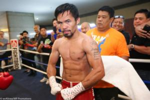 Manny Pacquiao Is Motivated, Happy And Hungry