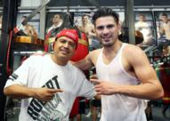 Media workout: Jose Ramirez talks about his defense of title with Robert Garcia in his corner