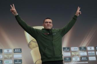 Usyk confident as fight draws closer
