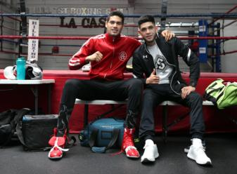 Media Workout: Gilberto Ramirez and Alex Saucedo are ready to to
