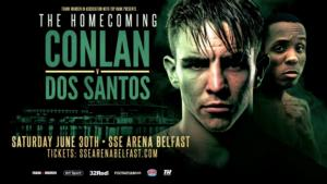 Conlon's 'Ready To Go'  In Belfast