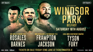 Carl Frampton Defends Title Against Luke Jackson, Tyson Fury Makes Quick Return