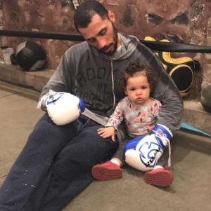 Galarza Is Inspired By The Joy His Daughter Brings Him
