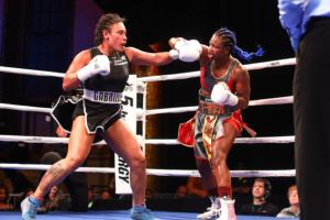 Claressa Shields Makes Quick Ring Return