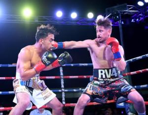 Ruben Villa In Explosive Form Against Ricardo Lopez