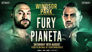 Tyson Fury's Second Comeback Opponent Is Announced
