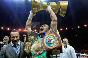 Usyk Signs Promotional Deal With Matchroom Boxing