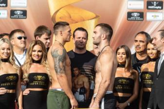 Usyk and Gassiev hit the scales
