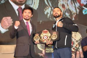 Lucas Matthysse And Manny Pacquiao Make Weight In Kuala Lumpa