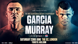 Murray And Garcia Both In Determined Mood