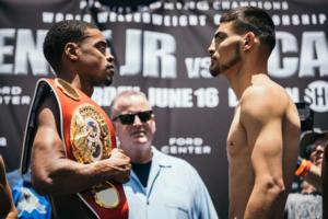 Spence Jr, Ocampo And Roman Make Weight But Moises Fails