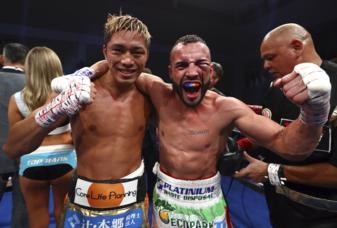 Ito wins vacant junior lightweight title