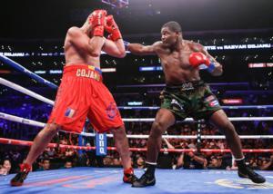 Ortiz Ko's Cojanu Inside Two Rounds,Barrios Takes Out Roman