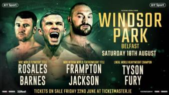 Jackson oozing with confidence as bout with Frampton gets closer