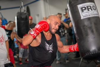 Media day: Ray Beltran prepares to defend title