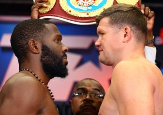 Jennings vs. Dimitrenko and Hart vs. Gavronski weigh-in results