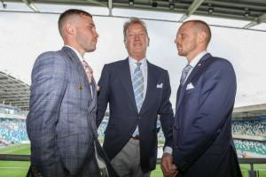 Frampton Realises A Dream/ Fury-Wilder Is On