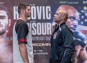 Hrgovic And Mansour come Face to Faces