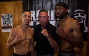 Boxers Weigh In In Worcester