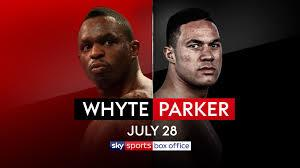 Whyte defeated Parker