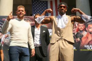 Saunders,Andrade, Farmer And Tennyson Go Head To Head In Boston