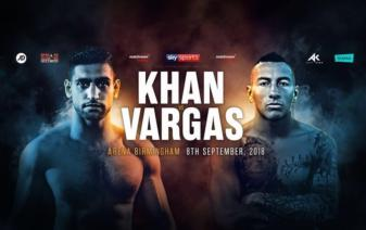 Khan Survives Scare To Decision Vargas