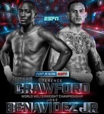 Close for five rounds, Crawford pulls away and stops Benavidez