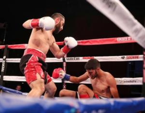 Kerobyan Takes Out Mendivil At LA Fight Club
