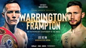 Warrington Vs Frampton Takes Place In Manchester