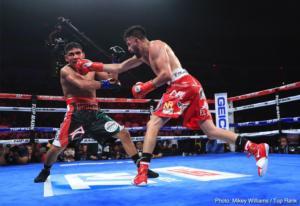 Jose Ramirez  vs Orozco pic Mikey Williams Top Rank