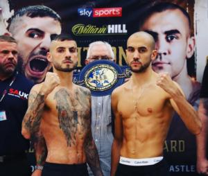 Ritson And Patera Make Weight In Newcastle