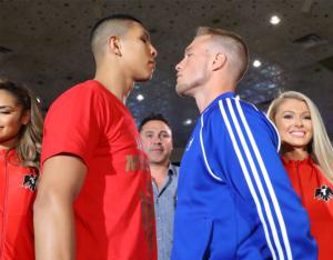 Munguia And Cook Battle On Vegas Undercard