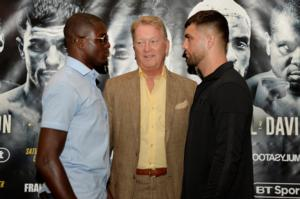 Ohara Davies Plans To Let His Fists Do The Talking