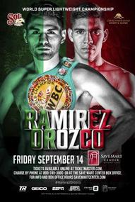 Ramirez retains title with exciting victory over game Orozco