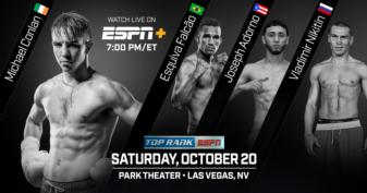 Oct.20: Michael Conlon set for Las Vegas debut